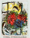 La Chevauchee Posters by Marc Chagall