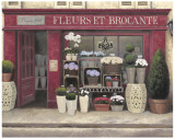 Fleurs & Brocante Posters by James Wiens