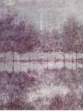 Shimmering Plum Landscape I Posters by Jill Schultz McGannon