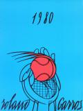 Roland Garros, 1980 Samlertryk af Valerio Adami