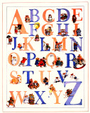 Alphabet Prints by Francis Wainwright