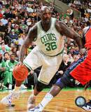 Boston Celtics Shaquille O'Neal 2010-11 Action Photo