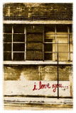 I Love You I Print by Pascal Normand