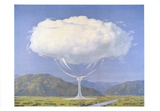 La Corde Sensible Prints by Rene Magritte