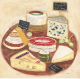 Cheese Plate I Posters by Maret Hensick