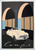 Coupe Serigraph by Perry King