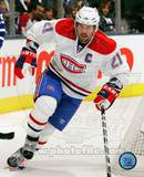 Montreal Canadiens Brian Gionta 2010-11 Action Photo