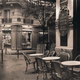 Café, Montmartre Posters af Alan Blaustein