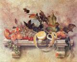 Nature morte avec citron Affiche par C. Sorel