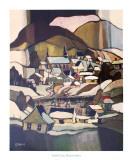 Ces Jeux Sur Glace Print by J.G. Desrosiers