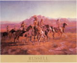Sun River War Party Prints by Charles Marion Russel