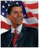 American History: Barack Obama Print by Sterling Brown