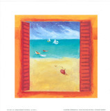 Window on the Sea III Posters by P. Birkin