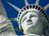 Close-Up of the Statue of Liberty Replica Photographic Print by Pete Ryan