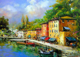 Lago Maggiore Plakaty autor E. Scognamiglio