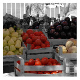 At the Market III Print by Carl Ellie
