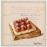 Tartine aux Framboises Prints by Pascal Cessou