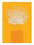 Nine Stem Vase Giclee Print by Takashi Sakai
