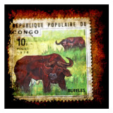 Buffalo Stamp Posters by Jean-François Dupuis