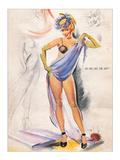 Do You Like the Hat Giclee Print by Elliott Freeman
