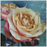 Fresh Bouquet with Text I Prints by Cristin Atria