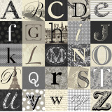 Designing Alphabet Poster by Morgan Yamada