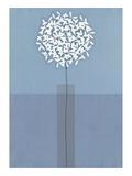 Single Stem Vase Giclée-tryk af Takashi Sakai