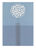 Single Stem Vase Giclee Print by Takashi Sakai