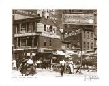 Delancey and Essex Streets, Manhattan, c.1908 Kunstdrucke