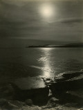 Twilight over Mcmurdo Sound Photographic Print by Herbert G. Ponting