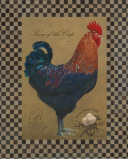 Country Living Rooster Poster by Luanne D'Amico