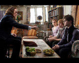 Harry Potter and The Deathly Hallows Part 1 - Scrimgeour, Ron, Hermoine and Harry Photo Photo