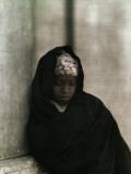 A Portrait of a Young Nubian Girl Lámina fotográfica por Courtellemont, Gervais