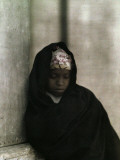 A Portrait of a Young Nubian Girl Photographic Print by Gervais Courtellemont