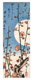 Ando Hiroshige - Blossoming Plum Tree with Full Moon - Giclee Baskı
