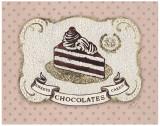Gilded Cake Poster by Stefania Ferri
