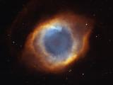 Hubble Telescope Image of the Helix Nebula Fotografisk tryk af NASA