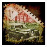 Car Stamp Art by Jean-François Dupuis