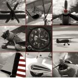 Aircraft Montage Print by Matt McCarthy