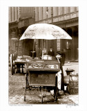 Pretzel Vendor, Duane Street, Manhattan, c.1918 Prints