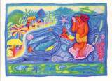 The Polynesians of Tahiti Print by Sue Williams