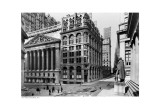 New York Stock Exchange, c.1921 Prints