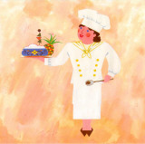 Chef Patronne Prints by L. Morales