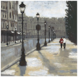 Cloudy Day in Paris II Prints by Norman Wyatt Jr.