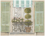 French Shutters I Posters by Stefania Ferri