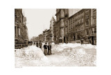 Fifth Avenue, c.1905 (sepia) Kunstdrucke