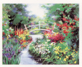 Footbridge Prints by Natalie Levine