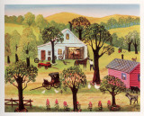 Konstantine Rodko - The Village Smithy - Poster