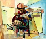 Little Musician Kunstdrucke von Nathaniel Barnes