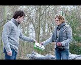 Harry Potter and The Deathly Hallows Part 1 - Harry and Hermoine Photo Photo